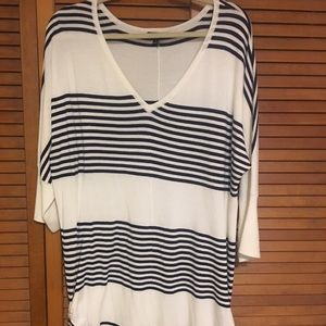 Torrid Striped Tunic
